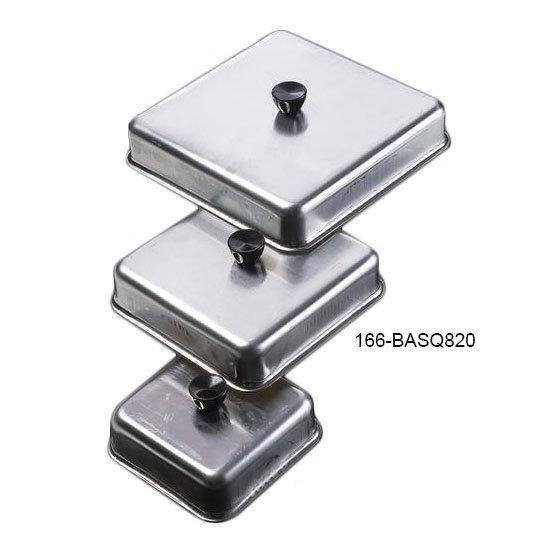 """American Metalcraft BASQ820 8"""" Square Basting Cover, Aluminum"""