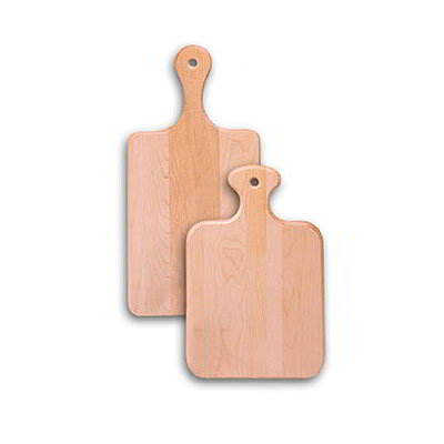 "American Metalcraft BB816 16"" Bread Board, Rubber/Wood"