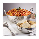 """American Metalcraft BD93 9"""" Round Balti Dish w/ 105-oz Capacity, Double Handled, Mirrored, Stainless"""
