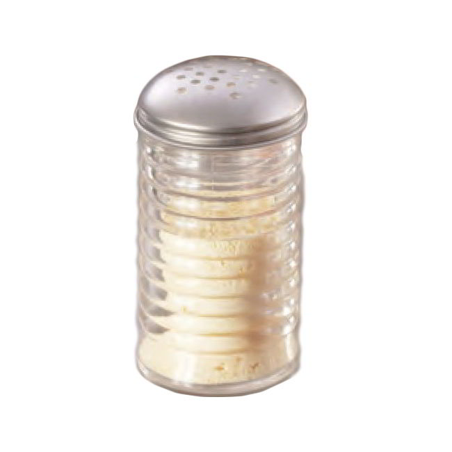 American Metalcraft BEE312 Cheese Shaker w/ 12-oz Capacity & Top, Glass/Stainless