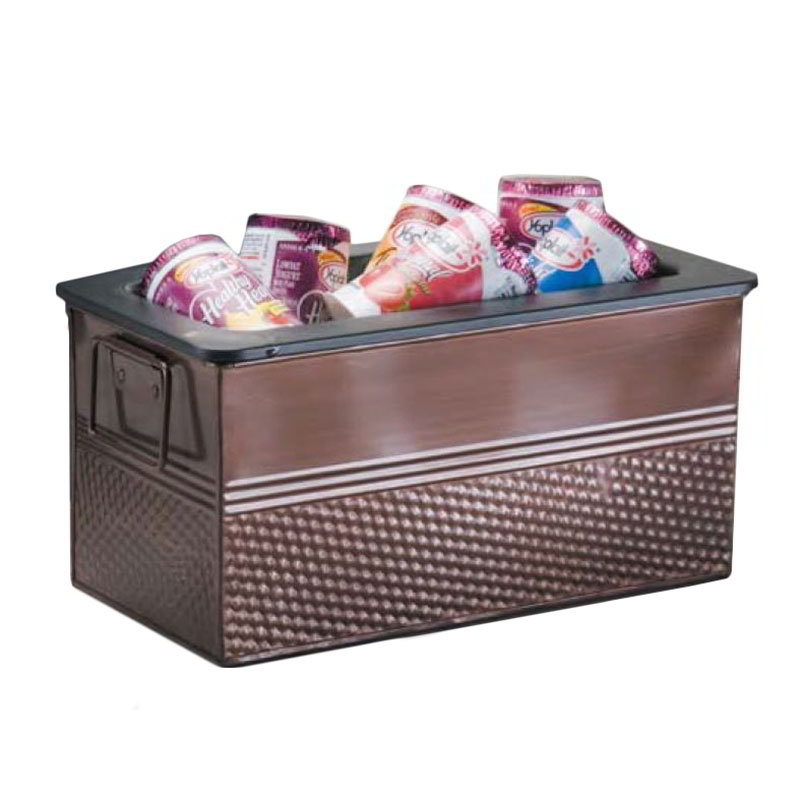 "American Metalcraft BEVC1266 12.25"" Beverage Tub, Copper"