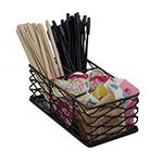 American Metalcraft BNCB84 Wire Coffee Caddy, Black