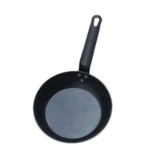 "American Metalcraft BSFP8 8"" Stainless Steel Frying Pan w/ Solid Metal Handle, Black"