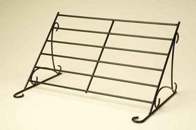 American Metalcraft BSR100 Rack Buffet System Large 29 in x 18-1/4 in Black Wrought Iron Restaurant Supply