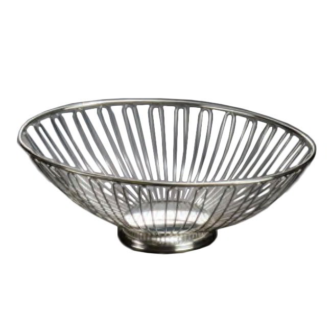 American Metalcraft BSS11 11-in Round Basket, Stainless