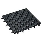 "American Metalcraft BT12X12 Bar Tile w/ Textured Surface, 12x12"", Vinyl/Black"