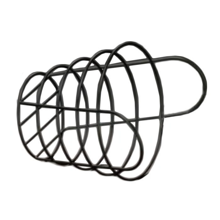 American Metalcraft BWB965 Round Wire Basket, 9x6.5-in, Black