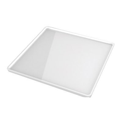 "American Metalcraft C281SP 11"" Square Plate for C281S, Porcelain"