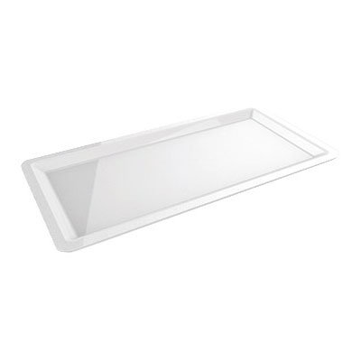 "American Metalcraft C602TP Rectangular Plate for C602T, 24x12x1"", Porcelain"