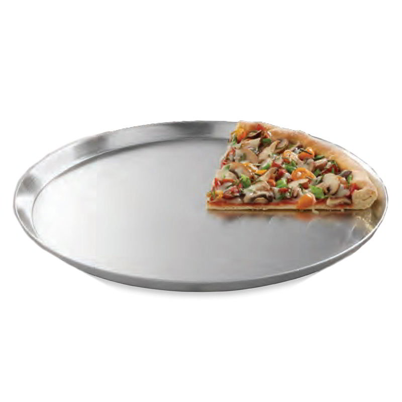 "American Metalcraft CAR10 10"" Solid Pizza Pan, Aluminum"