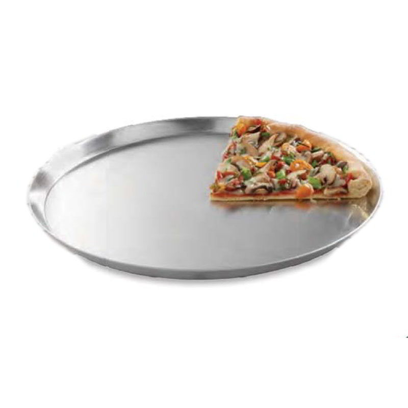 "American Metalcraft CAR11 11"" Solid Pizza Pan, Aluminum"
