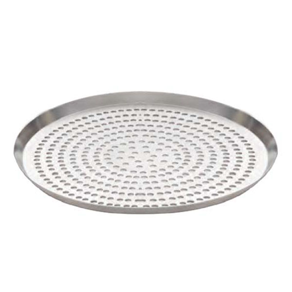 American Metalcraft CAR12SP 12-in Round Perforated Pizza Pan, Hardcoat, Aluminum