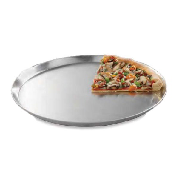 "American Metalcraft CAR13 13"" Solid Pizza Pan, Aluminum"
