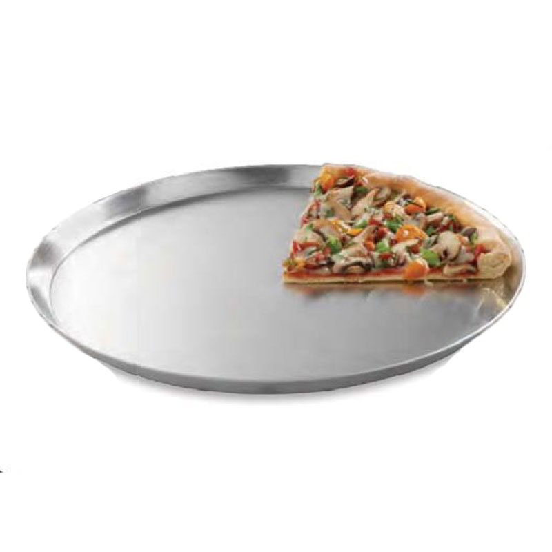 "American Metalcraft CAR17 17"" Solid Pizza Pan, Aluminum"