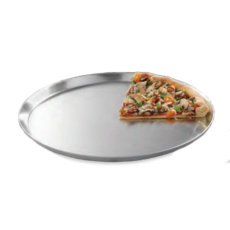 "American Metalcraft CAR18 18"" Solid Pizza Pan, Aluminum"