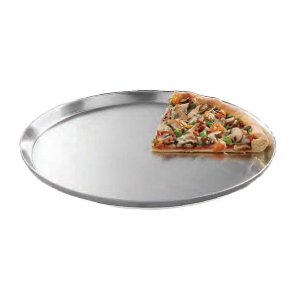 "American Metalcraft CAR8 7.75"" Solid Pizza Pan, Aluminum"