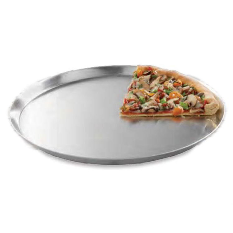 "American Metalcraft CAR9 8.5"" Solid Pizza Pan, Aluminum"