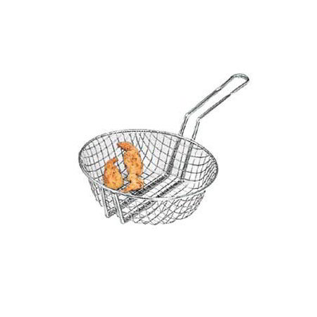 American Metalcraft CBC10 10-in Culinary Basket w/ Handle, Coarse Mesh, Steel