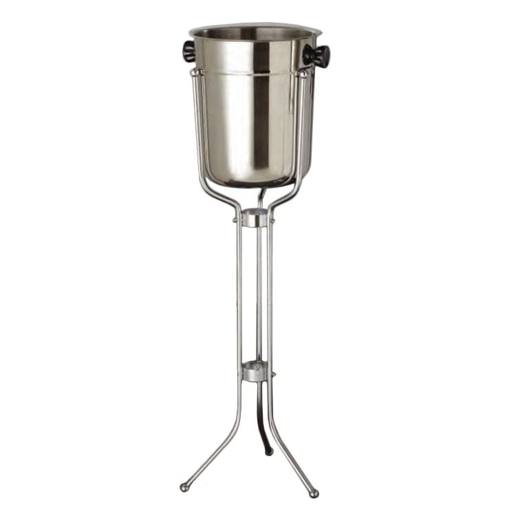 American Metalcraft CBS33 Champagne Bucket & Stand w/ 2-Bottle Capacity, Chrome/Stainless