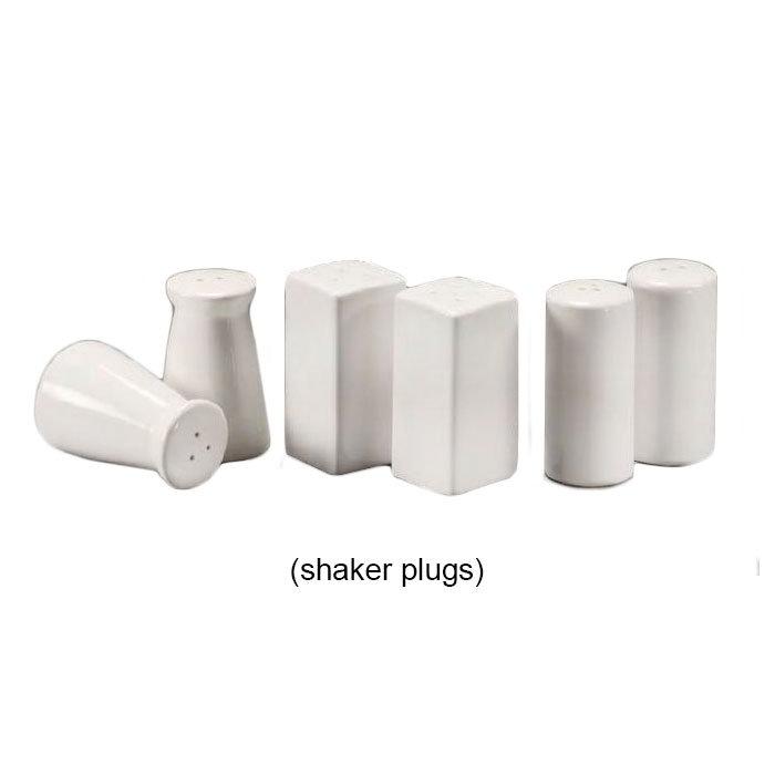 American Metalcraft CCPLUGS Salt & Pepper Shaker Plug, Silicone/Ceramic