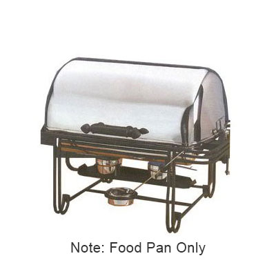 American Metalcraft CDFP33 Rectangular Chafer Food Pan, Stainless