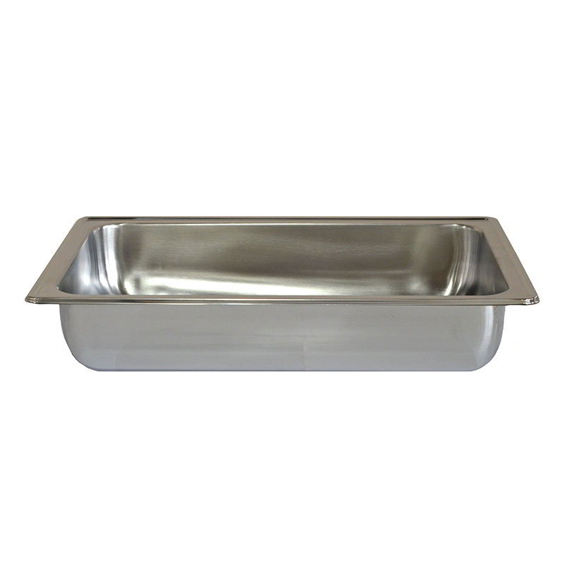 American Metalcraft CDWP26 Rectangular Water & Food Pan for 9-qt Chafer, Stainless