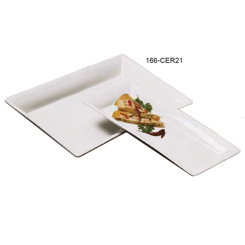 American Metalcraft CER21 Platter 21 in x 13 in Rectangle Restaurant Supply