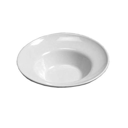 "American Metalcraft CER9 17"" Bowl w/ 180-oz Capacity, Ceramic/White"