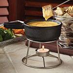 American Metalcraft CIFD Mini Fondue Pot, Cast Iron