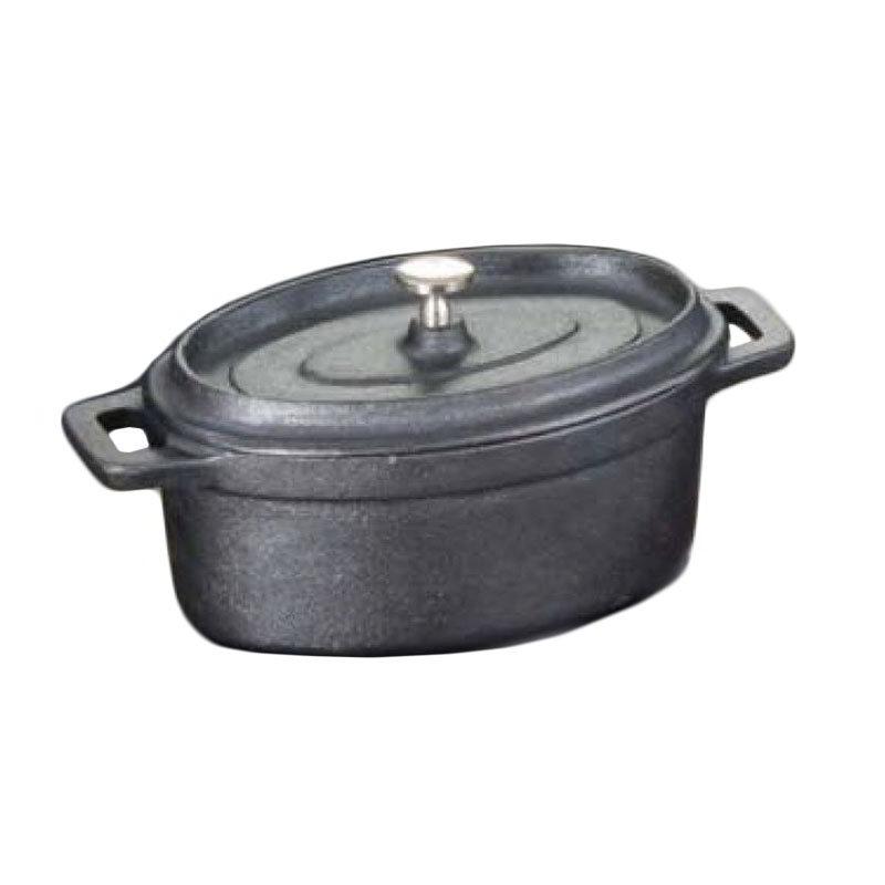 American Metalcraft CIPOV6040 Oval Baking Dish w/ 17-oz Capacity, Cast Iron