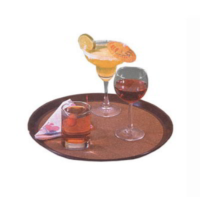 American Metalcraft CLBT14 14 in Plastic Bar Tray, Cork Board Center