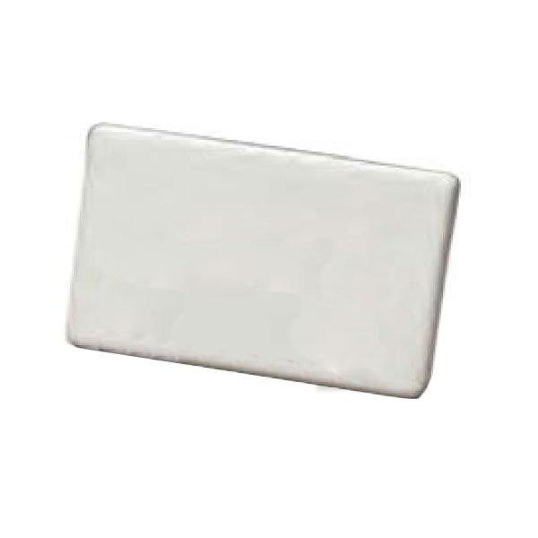 "American Metalcraft CMP425 Write-On Tabletop Menu Card - 2.5"" x 3.75"", Ceramic"