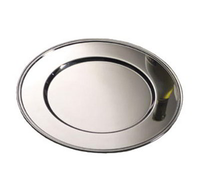 American Metalcraft CPRD1175 Charger Plate, Round, 11-3/4 in dia., Stainless Steel