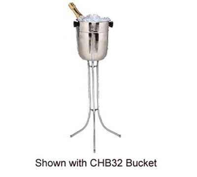 American Metalcraft CS29 Wine Bucket Stand, Bucket Not Included, Collapsible, Stainless Steel