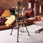 American Metalcraft CSD3 Cone Stand w/ 3-Cone Capacity, Black/Wrought Iron