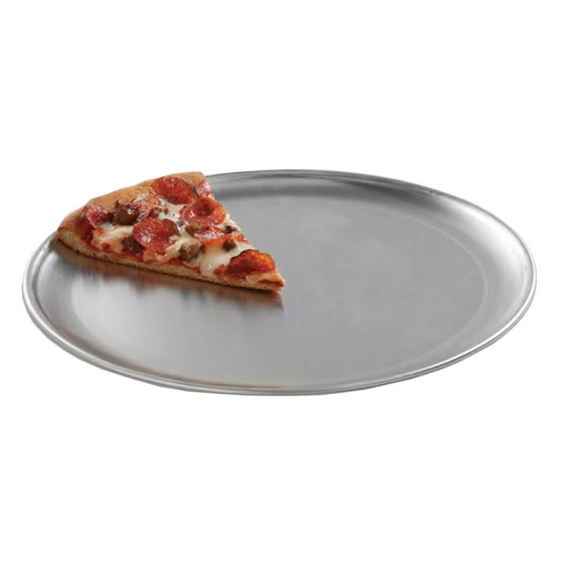 "American Metalcraft CTP11 11"" Solid Pizza Pan, Coupe Style, Aluminum"