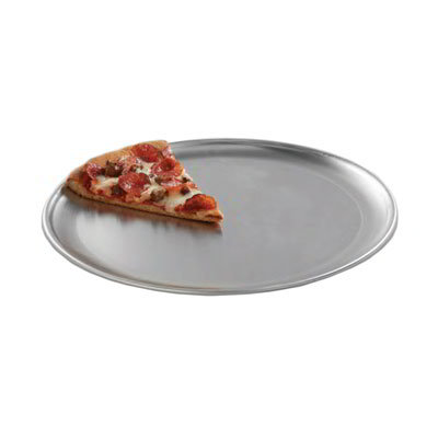 "American Metalcraft CTP12 12"" Solid Pizza Pan, Couple Style, Aluminum"