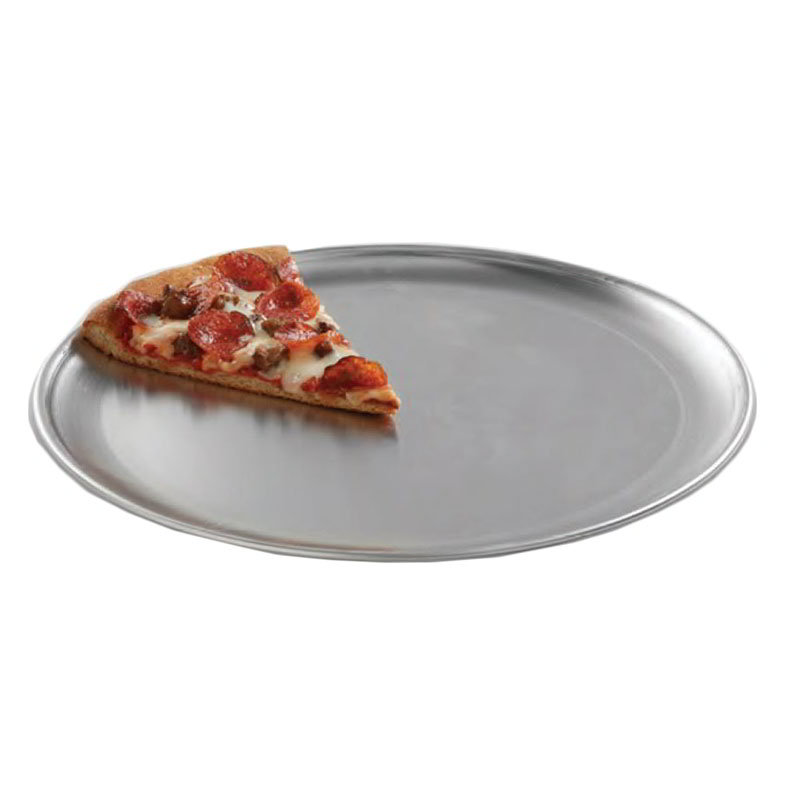 "American Metalcraft CTP14 14"" Solid Pizza Pan, Coupe Style, Aluminum"