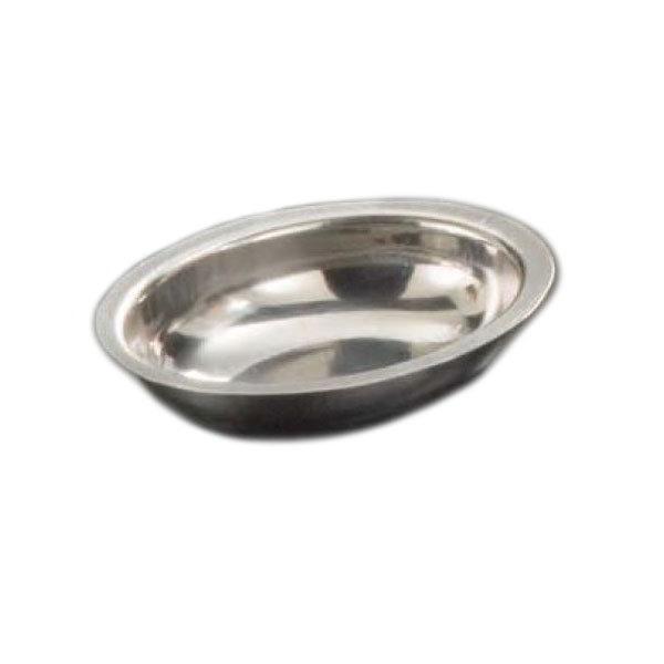 American Metalcraft D404 Oval Sauce Cup w/ 1.5-oz Capacity, Stainless