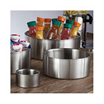 """American Metalcraft DWB14 14"""" Straight Sided Bowl, Stainless"""