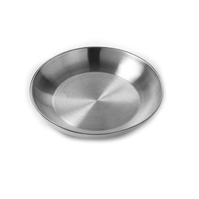 "American Metalcraft DWSEA12 12"" Round Seafood Tray - Stainless"