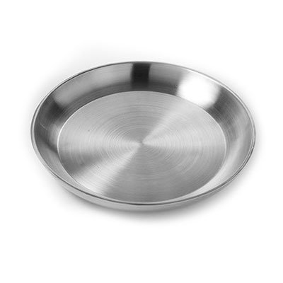"American Metalcraft DWSEA16 15-3/4"" Round Seafood Tray - Stainless"
