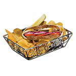 American Metalcraft EBB95C Rectangular Basket, Chrome