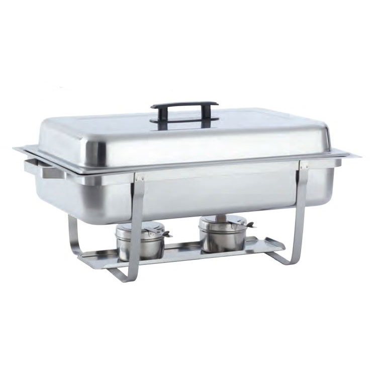 American Metalcraft ECON22 Full Size Chafer w/ Lift-off Lid & Chafing Fuel Heat