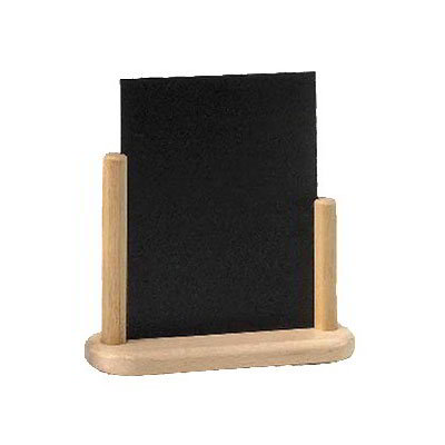"American Metalcraft ELEBSM Table Top Board w/ Removable Blackboard, 4x6"", Wood"