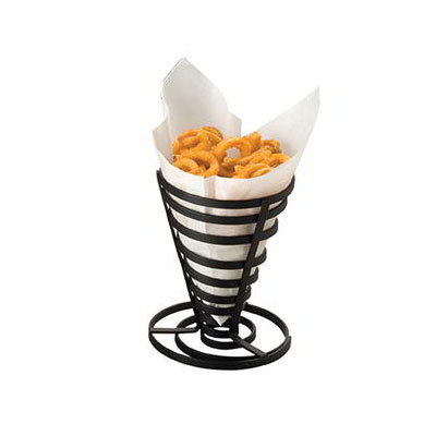 American Metalcraft FCD1 5-in French Fry Basket, Black