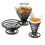 American Metalcraft FCD2 7-in French Fry Basket, Black