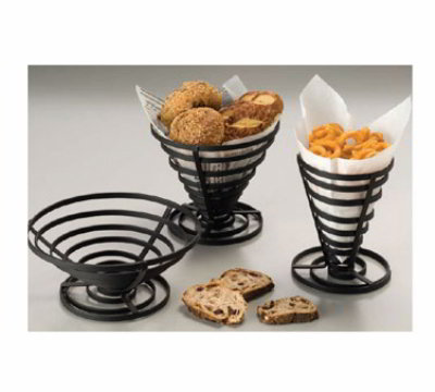 American Metalcraft FCD3 Black Coil French Fry Basket 8-1/2 in x 3-1/4 in Flat Restaurant Supply