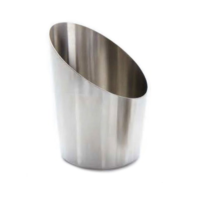"American Metalcraft FFCS45 2.87"" French Fry Cup, Satin Finish, Stainless"