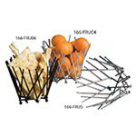 American Metalcraft FRUC4 7-in Thatch Basket, Chrome